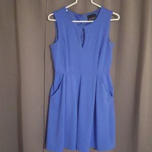 Cynthia Rowley Periwinkle Knee Length Dress